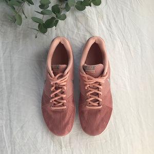 🆕 Nike Flex Bijoux Trainer in Rust Pink — 9
